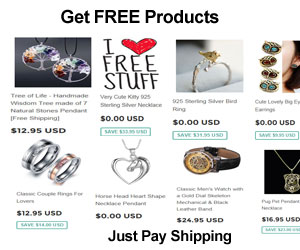Get FREE Products! Pay only S/H